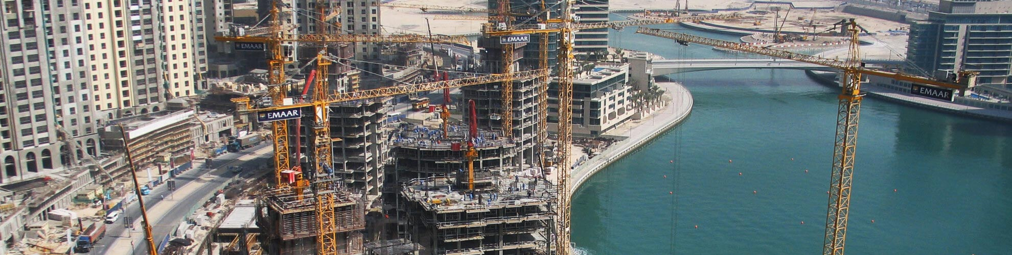 Ischebeck Titan Middle East are involved with the Dubai Marina project