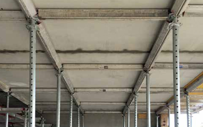 Precast support systems for supporting concrete elements